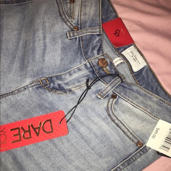 Celebrity Pink Denim - Celebrity Pink White Washed Jeans. Size 0.